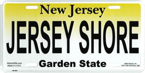 Jersey Shore License Plate