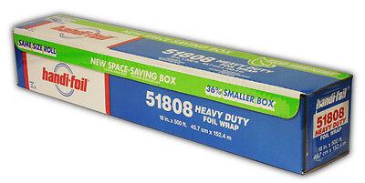 Handi-foil 18 X 500 Heavy Duty Aluminum Foil Food Wrap Roll -hfa Ref 51808