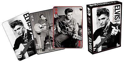 Elvis Presley Black & White photos set of  52 playing cards (+ jokers) (nm)