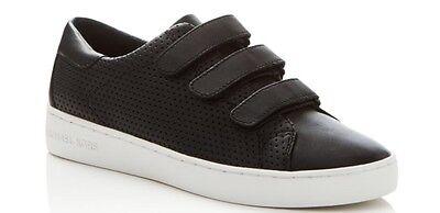 Women's Michael Kors Craig Sneakers Leather Black, Size: 9 M