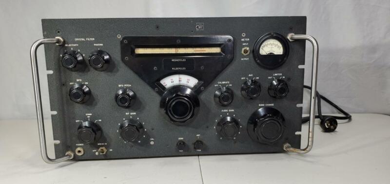 Collins R-388/URR Communications Radio Receiver VG Condition, Includes Schematic