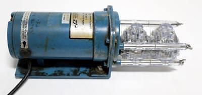 Cole-parmer 7553-30 Masterflex Pump Motor W2 7013-20 Pump Heads