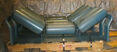 4 Metso Minerals 4196-35deg Offset Idlers Regreasable 6 Dia Rolls