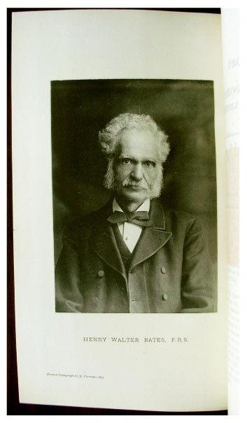 1892 HENRY WALTER BATES - Obituary - PHOTOGRAVUIRE PORTRAIT - Memorial Fund -4-5