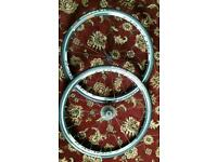 Fulcrum racing 7 wheels with ultremo ZX tyres 25mm with shimano cassette nearly new