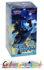 1X Boosters Pokemon XY Wild Blaze Coreen Korean
