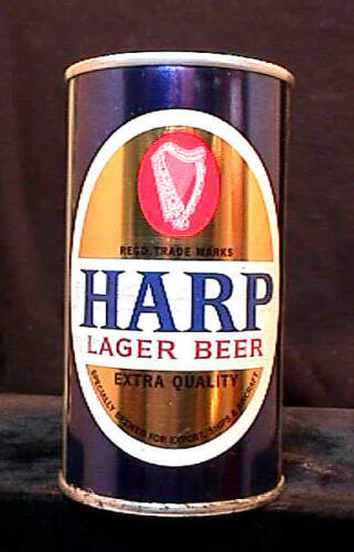 HARP LAGER BEER - LATE 1960