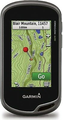 Garmin Oregon 600 Worldwide Touchscreen Handheld Outdoor Hiking Gps Navigator