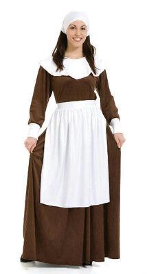 Peter Alan Pilgrim Woman Adult Costume Size Medium 8-10](Alan Costume)