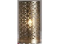 Brass Effect Tunis Table Lamp