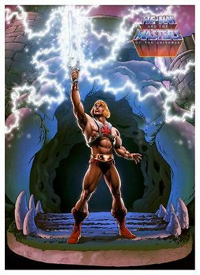 He-Man *POSTER* Master of the Universe *AMAZING IMAGE* MOTU He Man MOTU Cartoon