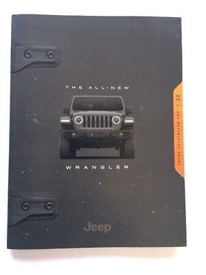 Brochure Catalog Guide - 2018 Jeep Wrangler 106-page Car Sales Brochure Catalog Guide Book - Rubicon
