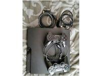 PS3 Slim 320GB Charcoal Black Console