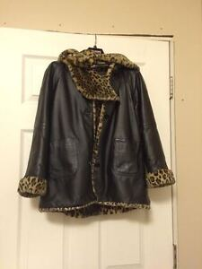 Wilsons Leather Winter Coat REAL Leather ONLY $50! London Ontario image 1