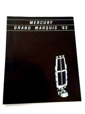 Mercury Grand Marquis Station Wagon (1983 Mercury Grand Marquis and Station Wagon Canada Car Sales Brochure Catalog )