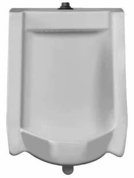 Sloan SU-1009-A Efficiency Dual Flush 0.125 to 0.5 GPF Urinal - White
