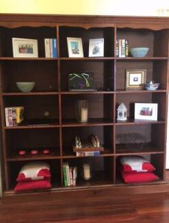Large Industrial Bookcase or Shelving Unit