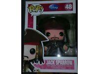 Jack Sparrow Pop Figure new