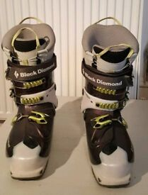 Female ski touring boots - 24.5cm (UK 5.5) - Black Diamond Swift - Dynafit