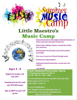 MUSIC SUMMER CAMPS!