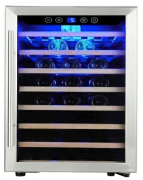 Wine for 52 Fla. Wine Fridge Glass Door Installation or Free-Standing