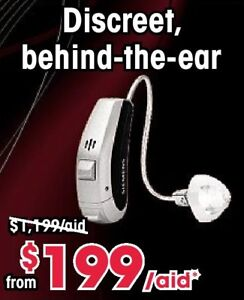 Discreet Behind-the-Ear Hearing Aids