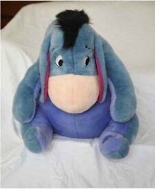 Eeyore Large Soft Toy (Disney Store Toy)