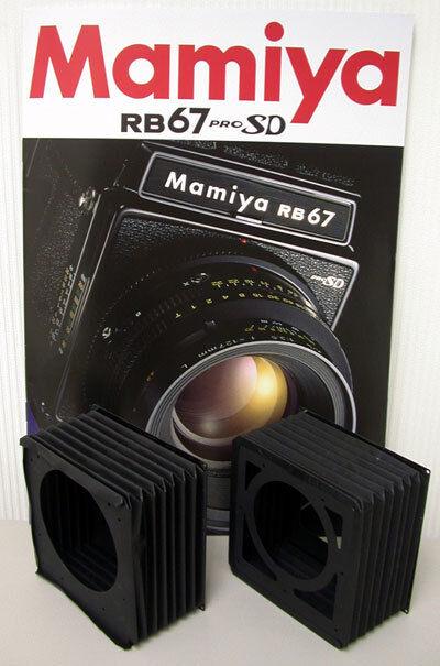 Mamiya Rz / Rz Pro Ii / Rz Pro Iid (bellows Replacement Spare Part)