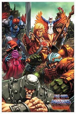He-Man *POSTER* Master of the Universe *AMAZING* MOTU He Man MOTU Evil Horde