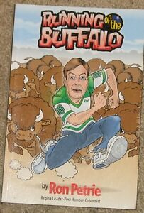 Running of the Buffalo - Ron Petrie - Softcover Book