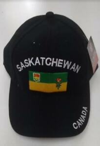BASE BALL CAPS PROVINCE - Saskatchewan - Alberta - Nova Scotia - Quebec