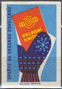 Czechoslovakia matchbox label 2543 Lipnik 1962 Sporte na krasnou dovolenou - Bydgoszcz, Polska - Czechoslovakia matchbox label 2543 Lipnik 1962 Sporte na krasnou dovolenou - Bydgoszcz, Polska