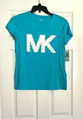 Women's T-shirt. Michael Kors. Blue. Size S.