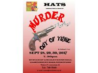 Murder Out Of Tune a production by HATS Theatre Group A thriller by Falkland L Cary