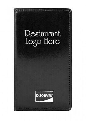Custom Check Presenter Holder 25 Per Box Credit Card Holder Restaurant And Bar