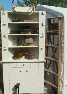 vintage-hat display cupboard/corner cabinet London Ontario image 9