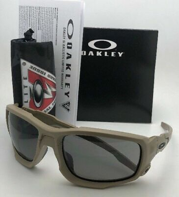 New OAKLEY Sunglasses SI BALLISTIC SHOCK TUBE OO9329-04 61-17 Terrain Tan (Shock Sunglasses)