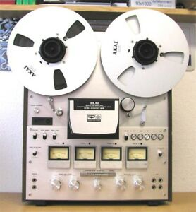AKAI REEL TO REEL 630D SS LIKE NEW WORKS FLAWLESS STEREO / QUAD