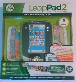 Leap Frog Leap Pad 2 Custom Edition with 9 apps included Boxed. Educational Toy