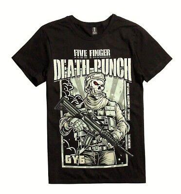Five Finger Death Punch 5FDP GOT YOUR SIX T-Shirt NEW Authentic & Official