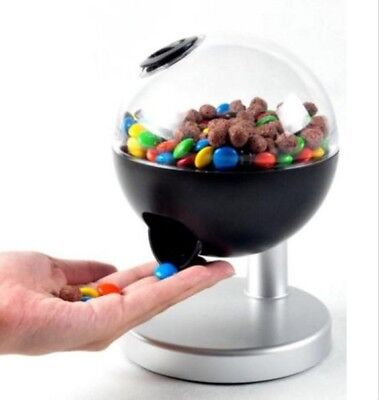 Candy Dispenser Globe By Chef Buddy For Home Or Office - Fun Secret Activation