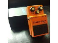 Boss DS1 Distortion guitar effects pedal
