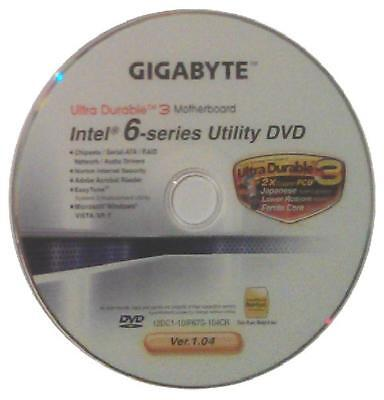 original gigabyte Mainboard Treiber CD DVD Intel GA-Z68XP-UD3 Win XP 7 Vista ~5