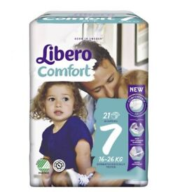 LIBERO COMFORT NAPPIES