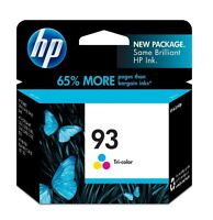 HP 93 Tri-color printer ink / Encre imprimante Tricolore HP 93