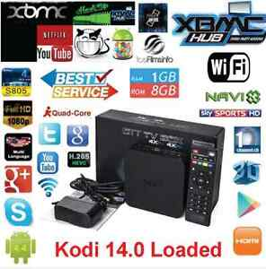 MXQ xbmc Kodi Tv Box Amlogic S805 Quad Core Google Android 4.4 K