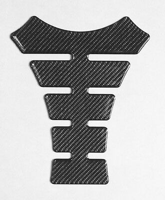 MOTORCYCLE GAS FUEL OIL TANK PAD PROTECTOR STICKER  REAL CARBON FIBER TNKP-07