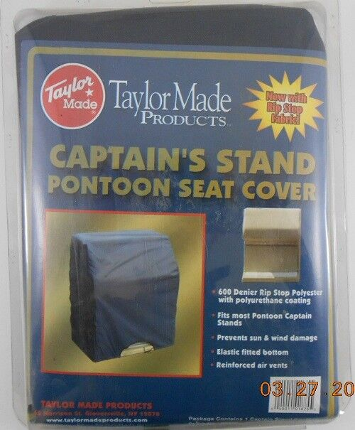 Taylor Made 80450 Captain's Stand Pontoon Seat Cover - Blue