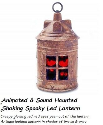 Halloween Prop Decoration Animated Sound Haunted Shaking Spooky Led Lantern (Animated Halloween Prop)