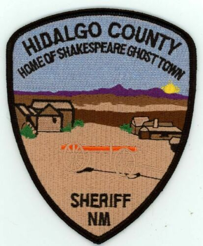 HIDALGO COUNTY SHERIFF NEW MEXICO NM NICE COLORFUL PATCH POLICE